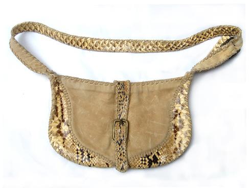 Unikt læder design af Jordan Betten. Fotograf: Marco Guerra